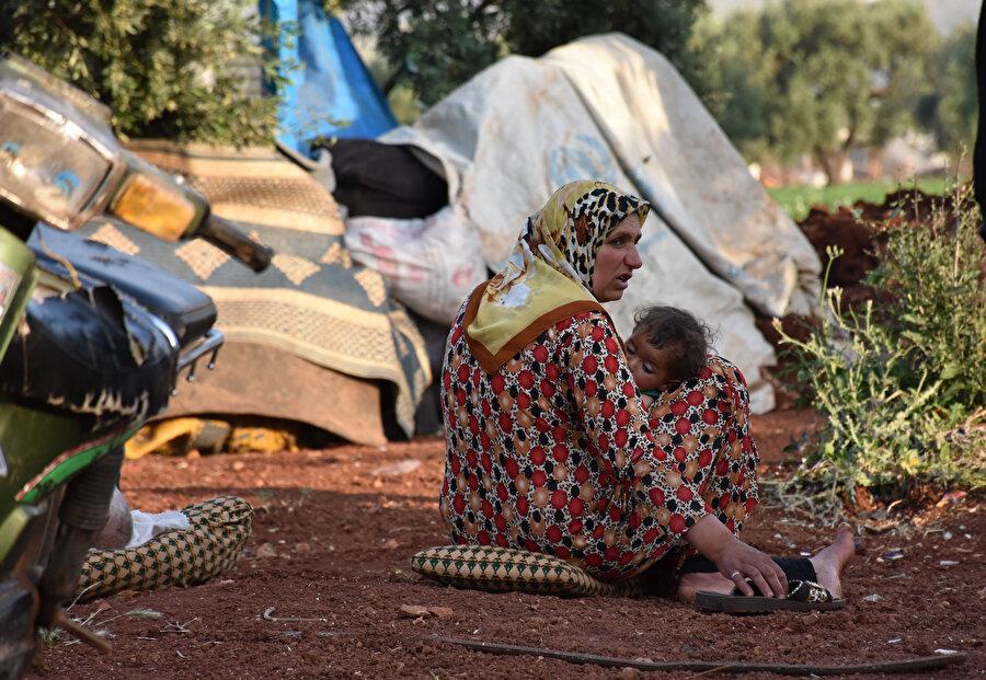 Elverişsiz koşullardan en çok küçük çocuklar etkileniyor.