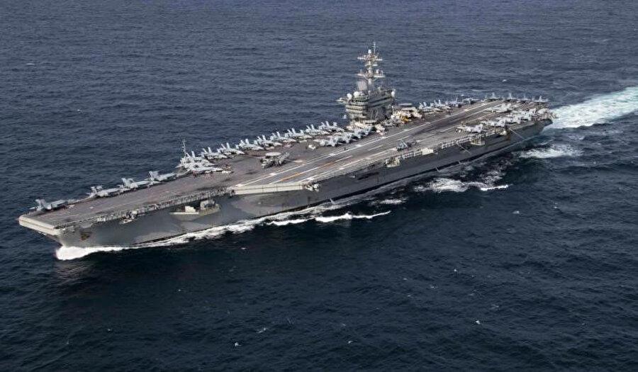 USS Abraham Lincoln gemisi / Fotoğraf: National Rewiew