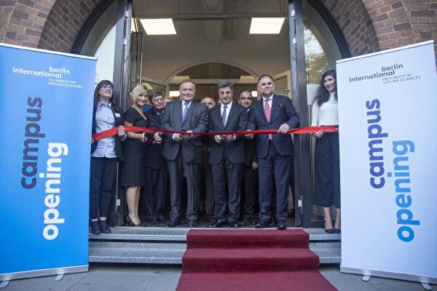 Berlin International Üniversite'nin yeni yerleşkesi geçtiğimiz yıl Salzufer Strasse'de açılmıştı.