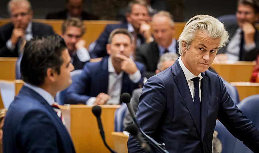 Geert Wilders (sağda)