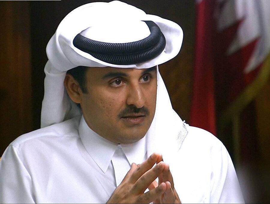Katar Emiri Şeyh Temim bin Hamed Âl-i Sânî.