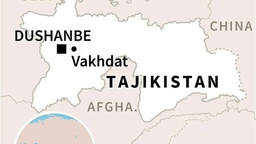 Duşanbe'nin 15 kilometre doğusunda bulunan Vahdat Cezaevi'nde 1,500 mahkum bulunuyor.
