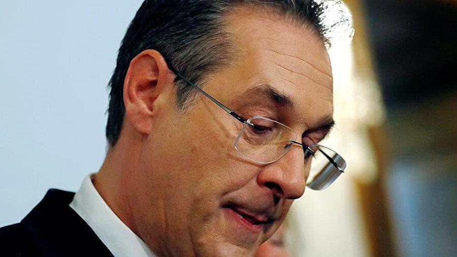 Avusturya Başbakan Yardımcısı Heinz Christian Strache