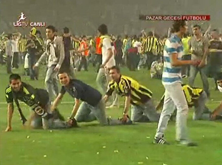 Fenerbahçe taraftarının o anları rakiplerinin diline düştü.