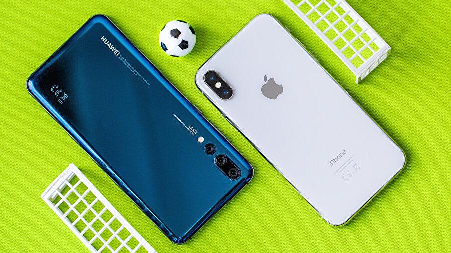 Huawei'nin mevcut durumu Android ekosistemindeki diğer şirketlere ve Apple'a yarıyor. Çünkü pastadan pay kapmak için hazırda bekliyorlar.