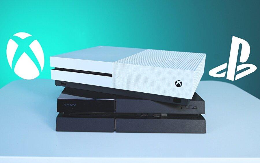 PlayStation ve Xbox arasındaki rekabet Microsoft ve Sony'i de sürekli olarak diri tutuyor.