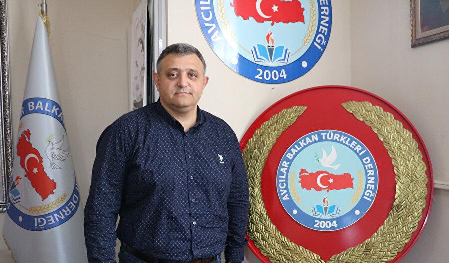Zorunlu göçün tanıklarından Taner Nizamoğlu.