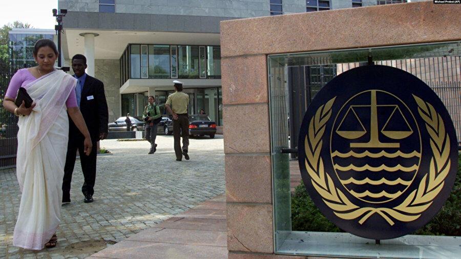 Almanya'nın Hamburg kentinde bulunan BM Uluslararası Deniz Hukuku Mahkemesi