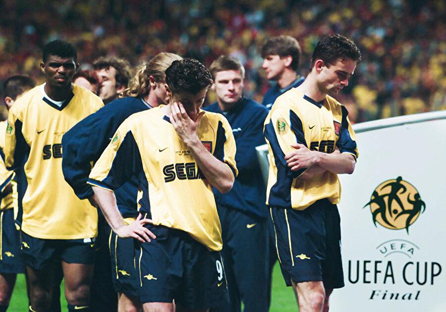 Galatasaray'ın devirdiği Arsenal'da oyuncuların o gece yaşadığı üzüntü.