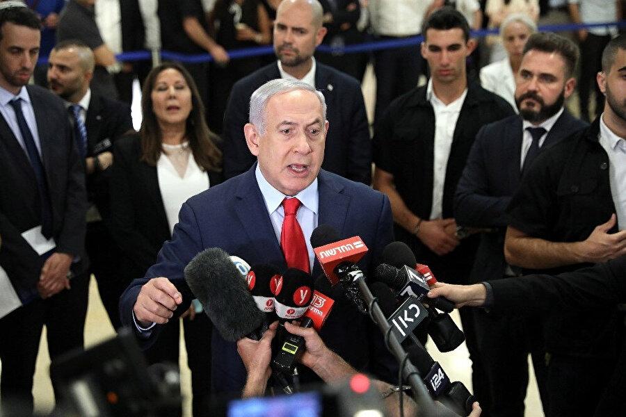 İsrail Başbakanı Binyamin Netanyahu kendisine yöneltilen eleştiriler üzerine basın açıklaması yaptı.