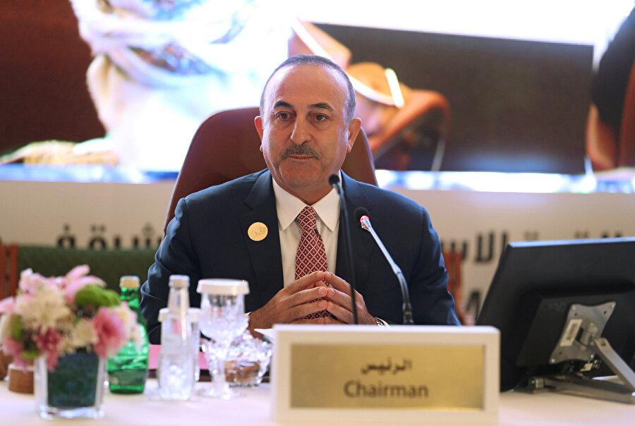 Zirvede Türkiye'yi Dışişleri Bakanı Mevlüt Çavuşoğlu temsil etti.