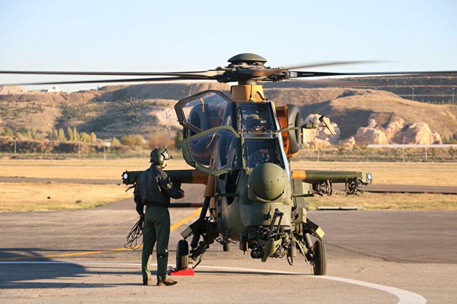 Atak helikopteri böyle test edilmişti.