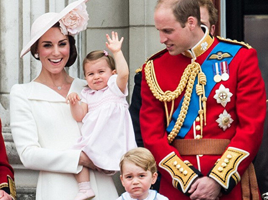 Prens William ve Kate Middleton.