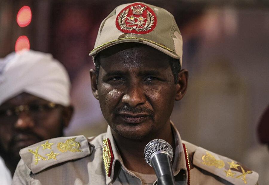 General Muhammed Hamadan Dagolo, olayların perde arkasındaki aktörü.