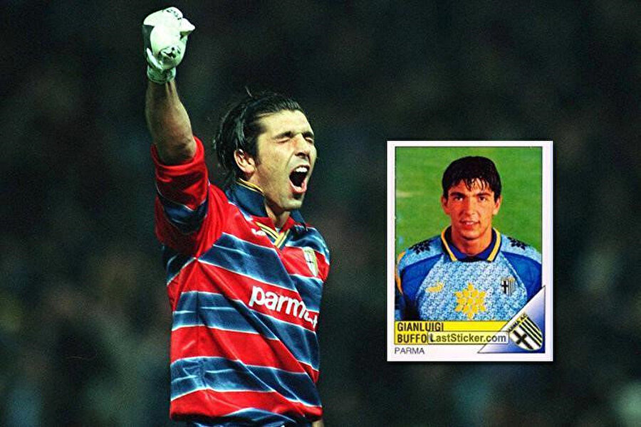 Buffon'un Parma günlerinden bir kare.