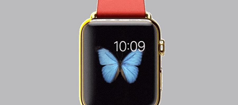 Apple Watch'lardaki OLED ekran, hareketli duvar kağıtlarının sonsuzluk hissi vermesini sağlıyor.