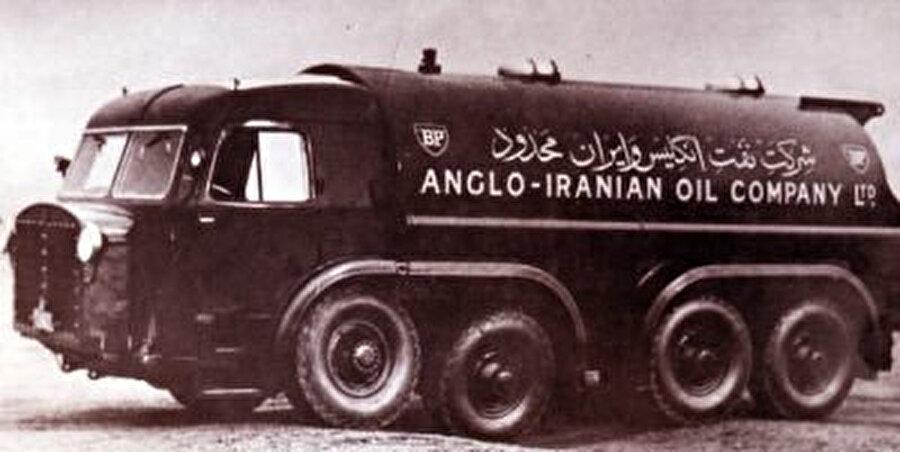 Anglo-İran Petrol Şirketi (AIOC) aracı 1950'ler İran.