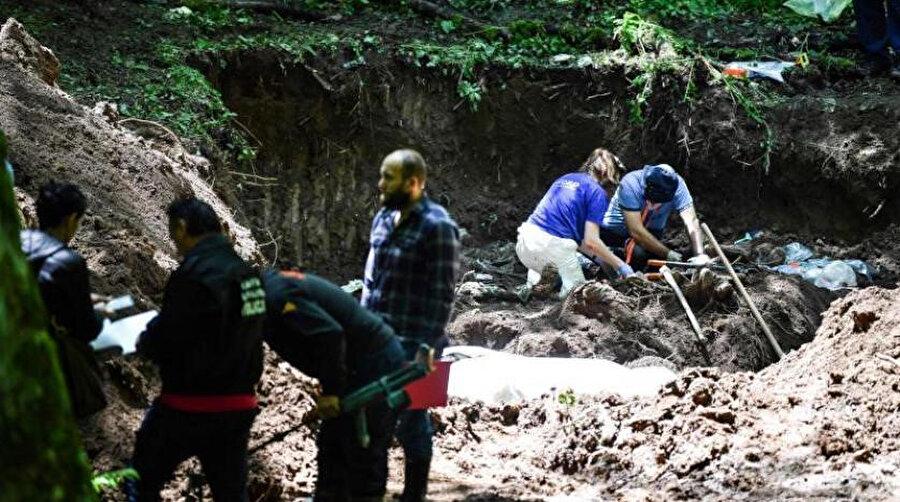 Igman Dağı'nda 12 yeni cesede ulaşıldı.