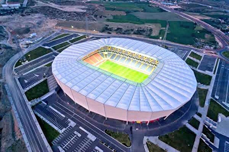 ▬ 25.497 kişi kapasiteli Mersin Arena.