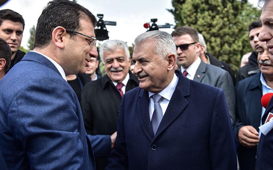 Yıldırım ve İmamoğlu, Turgut Özal'ın anma töreni dolayısıyla karşılaşmışlardı.