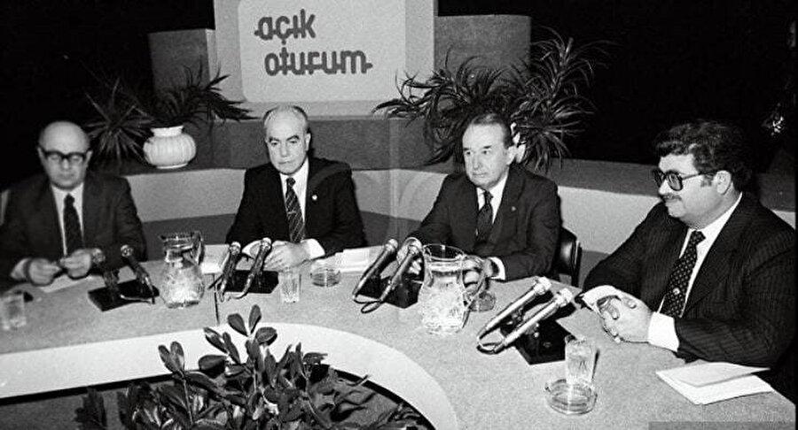 Açık Oturum ismiyle liderler tartışma programında bir araya gelmişlerdi.