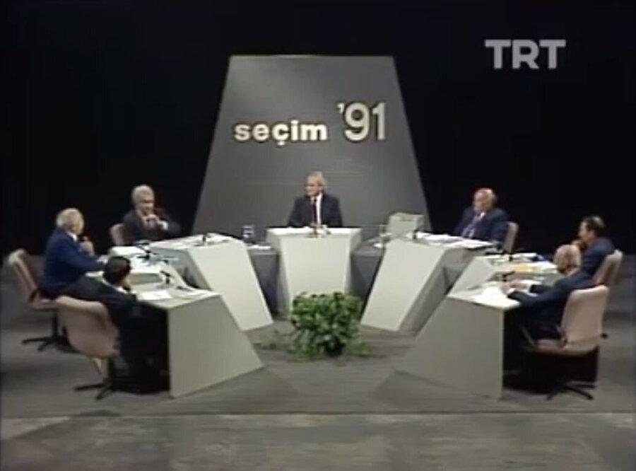 Seçim 91 programı TRT'den yayınlanmıştı.