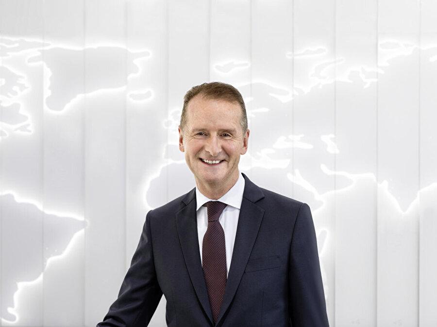 Volkswagen CEO'su Herbert Diess, Ford ile gerçekleşecek otonom anlaşmasının her iki şirket için de önemli olduğunu sürekli olarak vurguluyor.