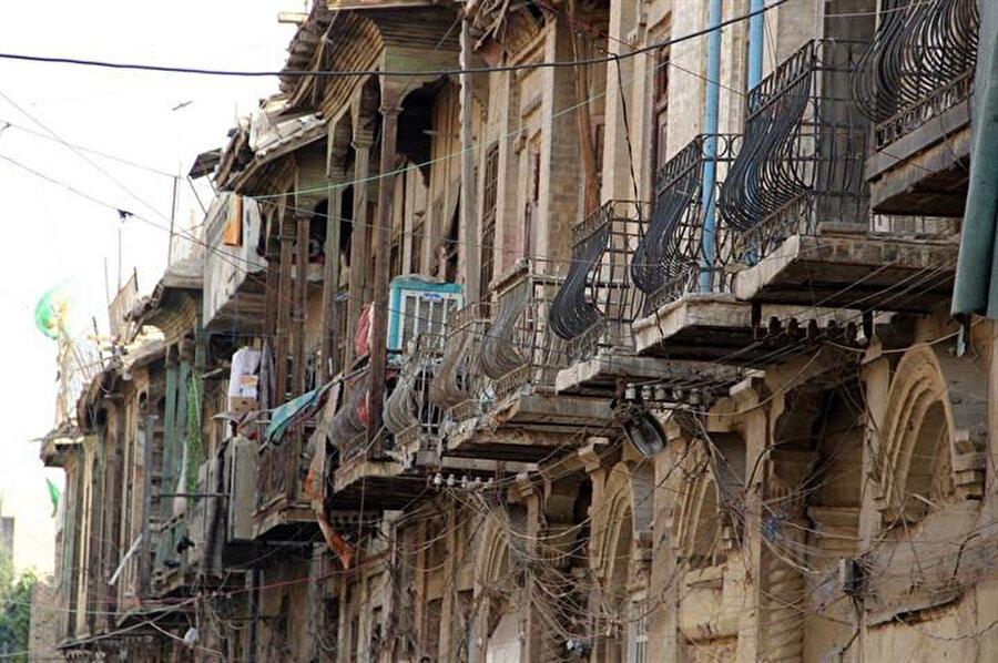 """Bağdat'ın Sadun semtine bağlı """"Eski Bağdat"""" diğer adıyla Bettavin'deki tarihi evler..."""