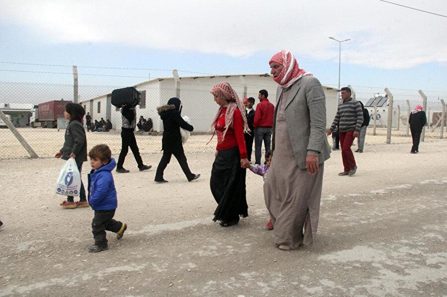 Türkiye'de 2.9 milyon mülteci bulunuyor.