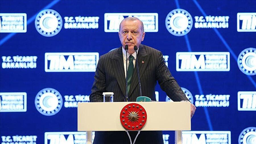 Cumhurbaşkanı Erdoğan'ın TİM toplantısı