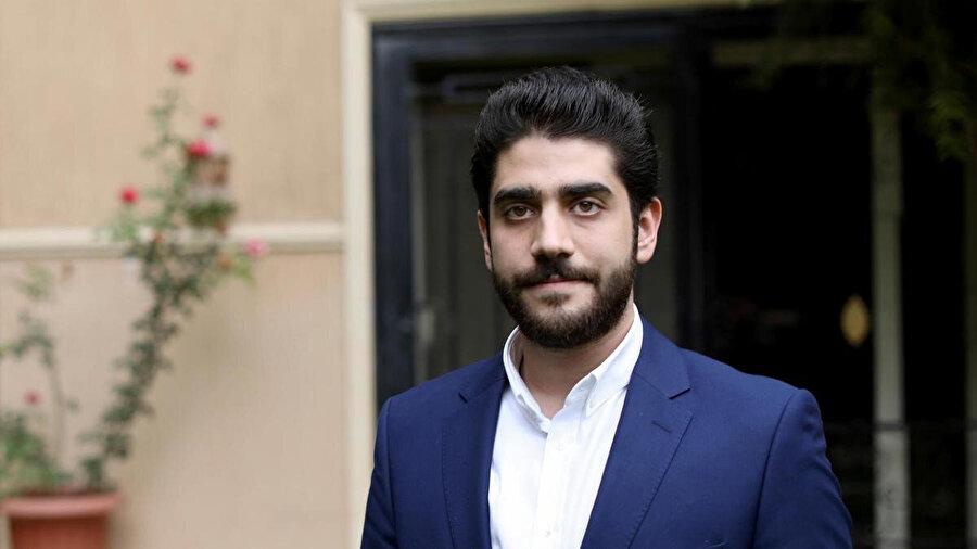 Muhammed Mursi'nin küçük oğlu Abdullah.