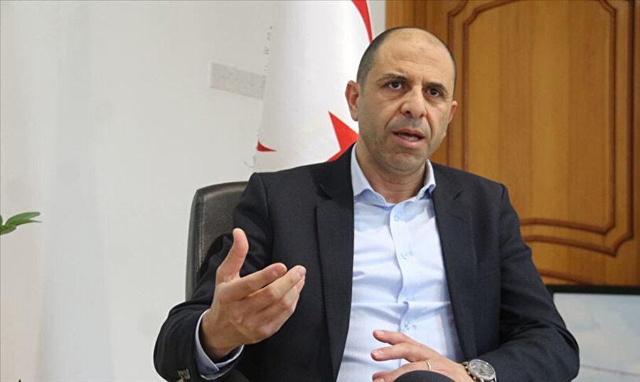 KKTC Başbakan Yardımcısı ve Dışişleri Bakanı Kudret Özersay