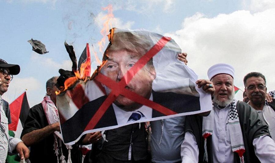 ABD'nin Filistin planına, İslâm dünyasının genelinde tepki ve öfke var.