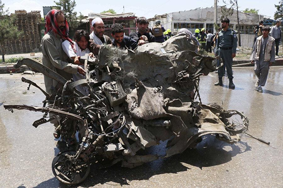 Afganistan'ın başkenti Kabil'de sıklıkla bombalı saldırı meydana geliyor.