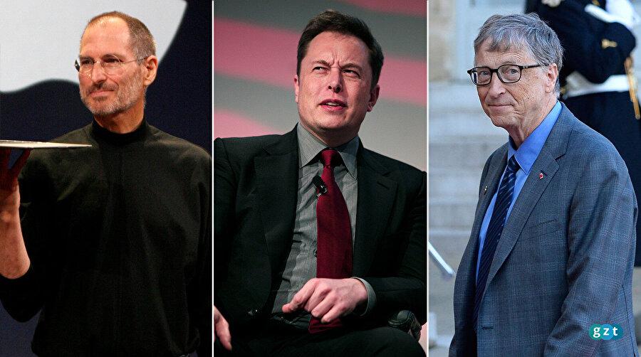 Dünyaca ünlü şirketlerin dünyaca ünlü CEO'ları uzun süreli çalışmalarının ardından şirketlerini hayal ettikleri noktaya taşımayı başardı. Steve Jobs, Elon Musk ve Bill Gates; bu duruma en güzel örnek konumunda.