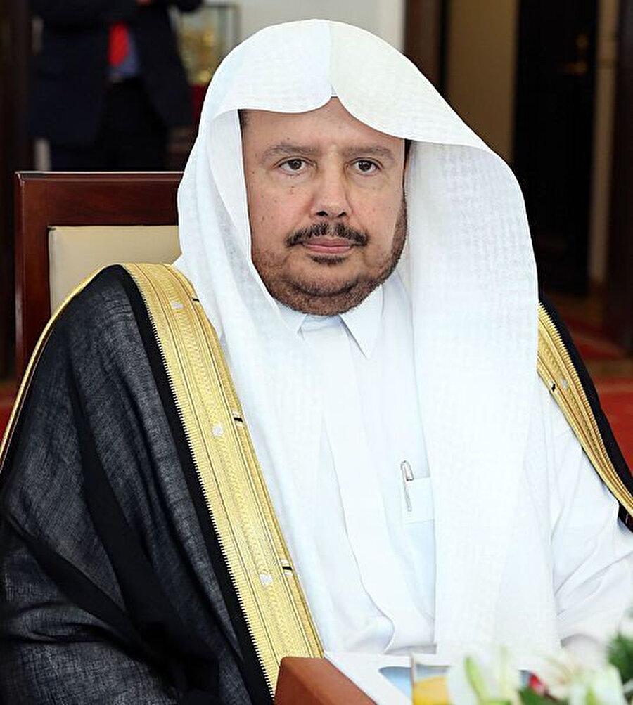 Suudi Arabistan Ekonomiden Sorumlu Devlet Bakanı Muhammed Al eş-Şeyh.