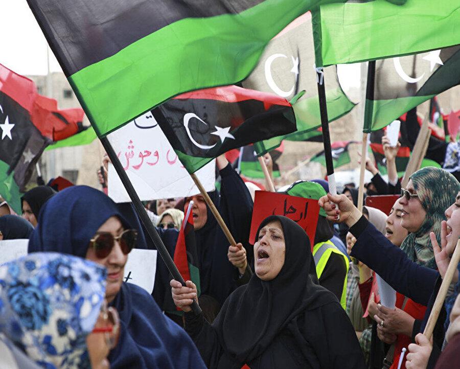 Libya halkının devrim hayalleri iç savaş ve kaosla sona erdi.