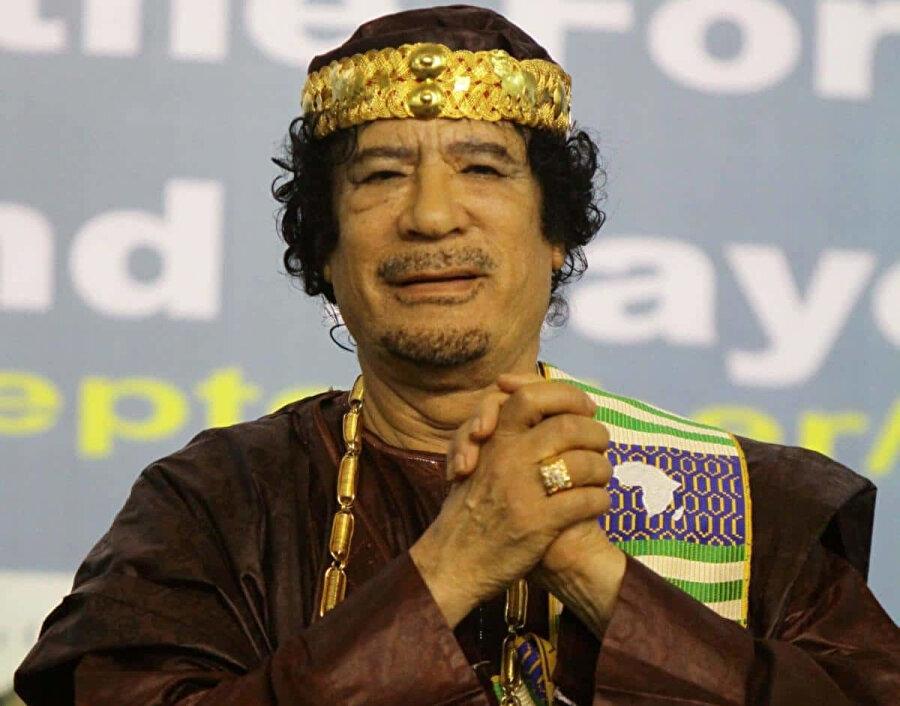 Muammer Kaddafi, 1969'dan 2011'e kadar Libya'yı yönetti.
