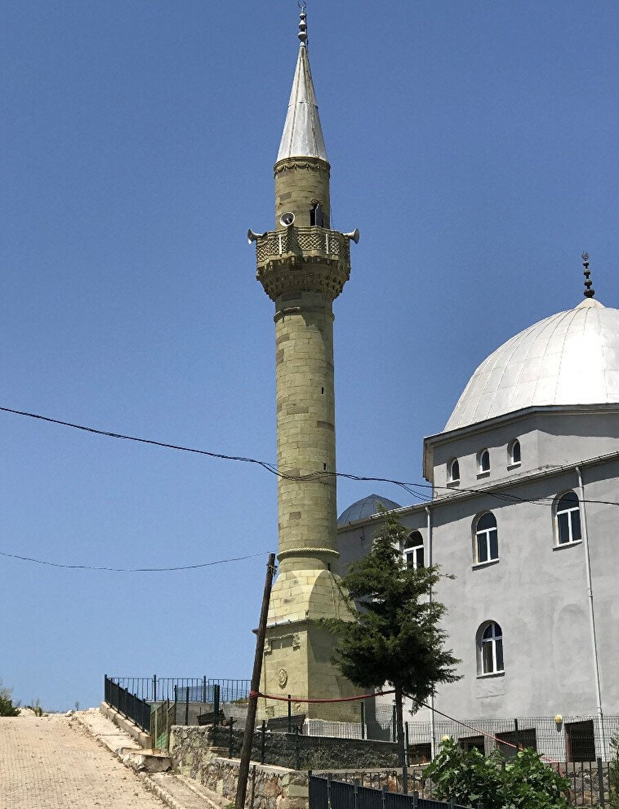 Minarenin son hali -İHA