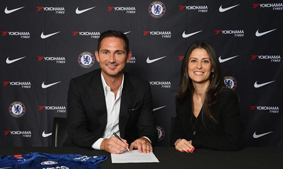 Frank Lampard & Marina Granovskaia.