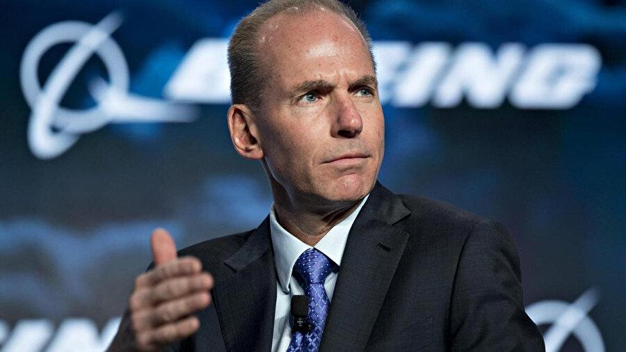 Boeing Üst Yöneticisi (CEO) Dennis Muilenburg