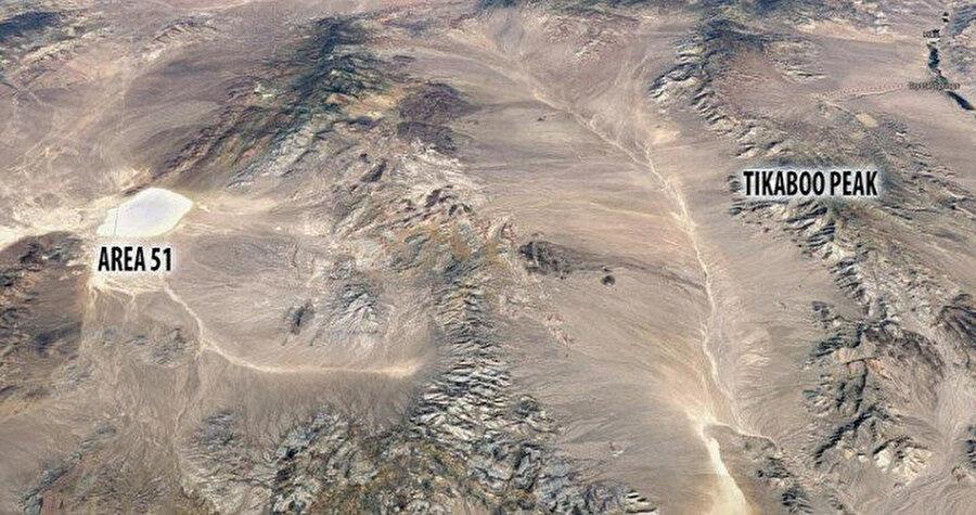 51'nci bölge uydu görüntüsü