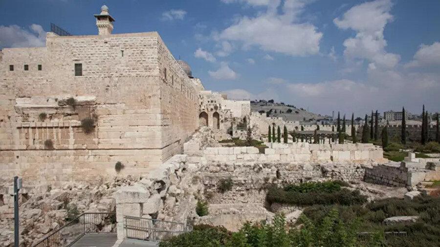 Elad'ın denetiminde bulunan Kudüs'teki Arkeolojik Park.