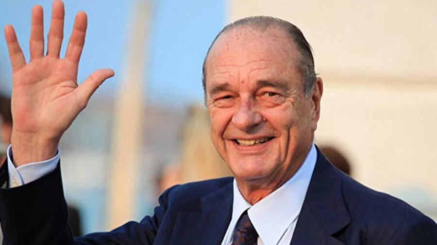 Fransa eski Cumhurbaşkanı Jacques Chirac.