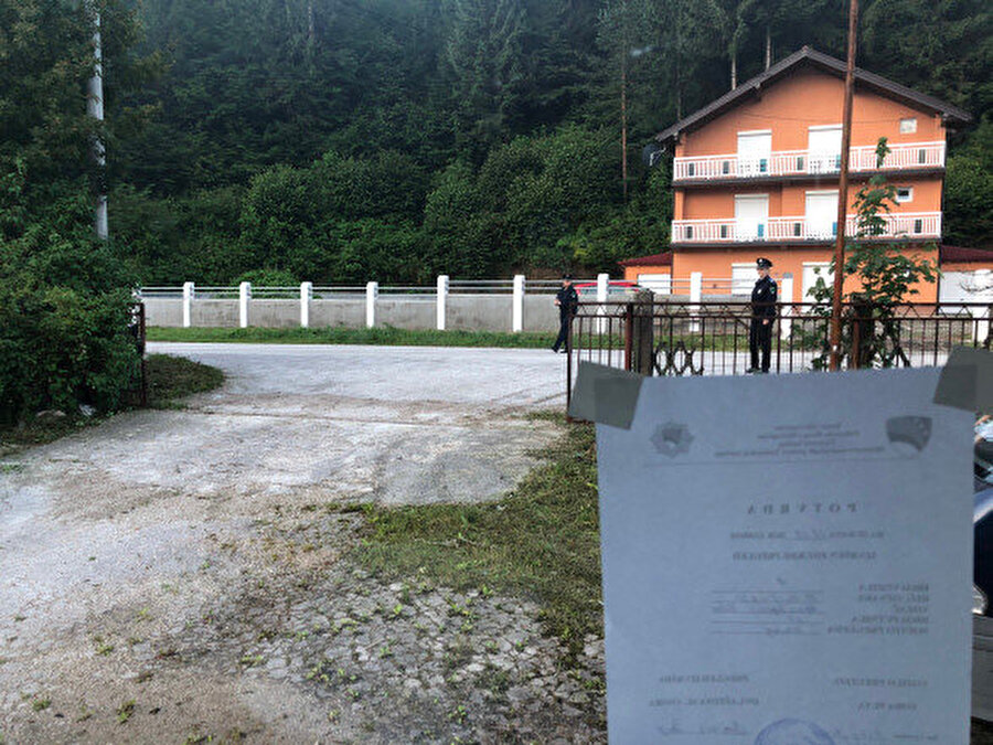 Srebrenitsa'ya doğru yola devam ediyoruz.
