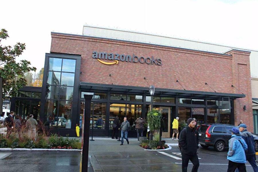 'Amazon Books' ofisi! Amazon, kitaplara olan ilgisini her fırsatta göstermeye çalışıyor. ABD'de inşa edilen
