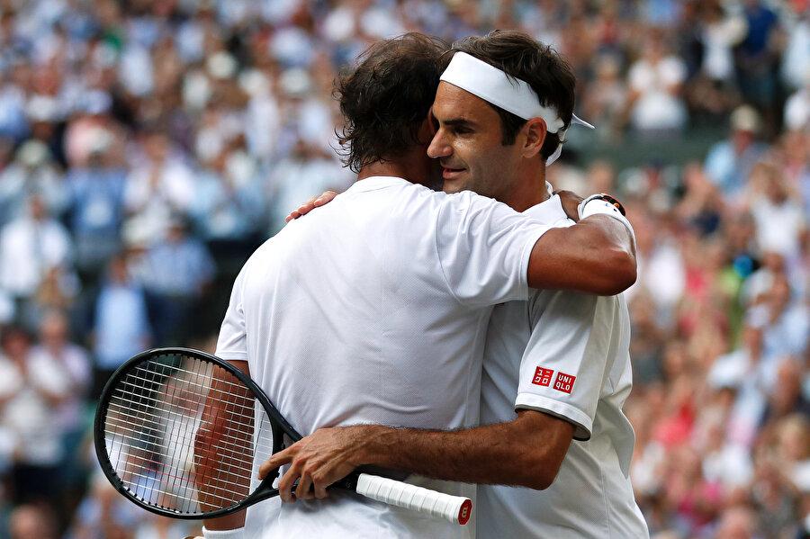 Rafael Nadal & Roger Federer.