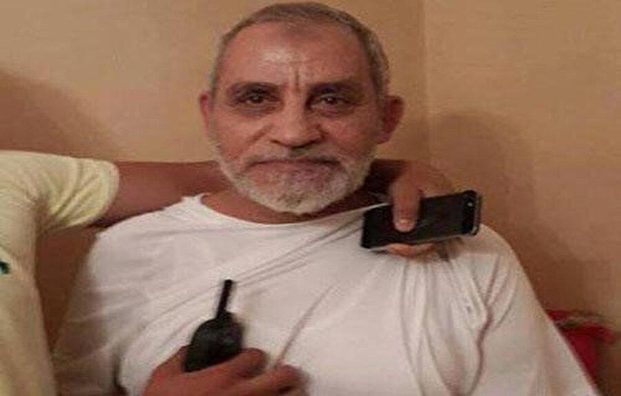Muhammed Bedî'nin Kahire'deki evinde tutuklanma anı.