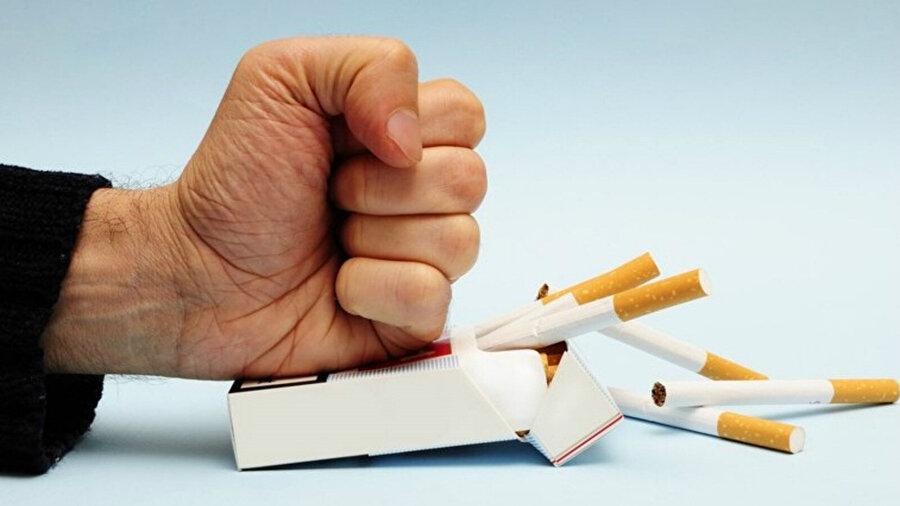 Sigarayı bırakmak yapılan çalışmalar sayesinde artık daha kolay bir hal almaya başladı