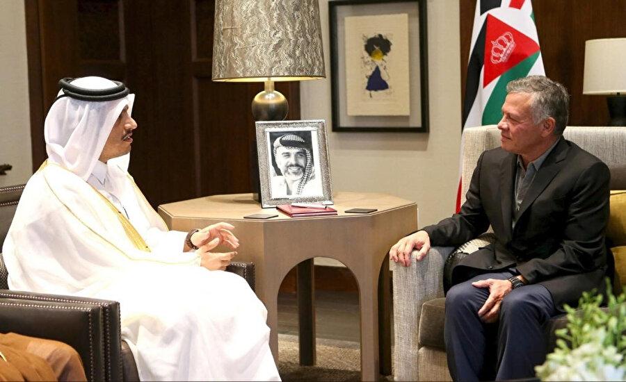 Katarlı yetkililer, geçtiğimiz aylarda Ürdün'ü sıklıkla ziyaret etti.